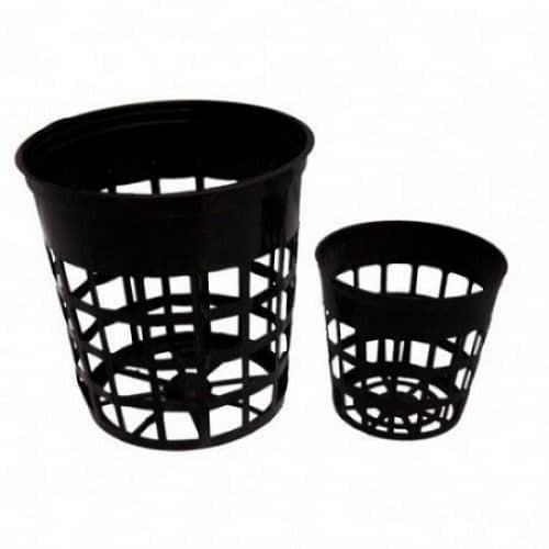 25 Macetas Para Hidroponía #8, Vasos Canastillas