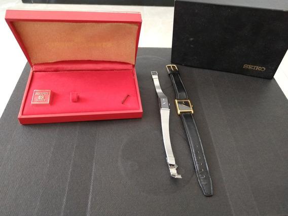 3 Relógios - 1 Casio E 2 Seiko Quartz