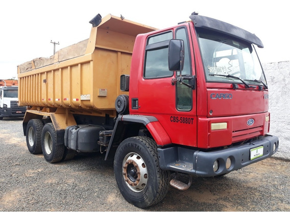 Ford Cargo 2628 - 6x4 - 2009 - Basculante Rossetti 12 Mtrs³