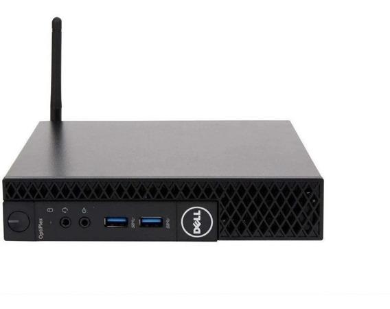 Mini Pc Dell 3070 I3-8100t 4gb Hd 500gb Caixa Blueth Wi-fi