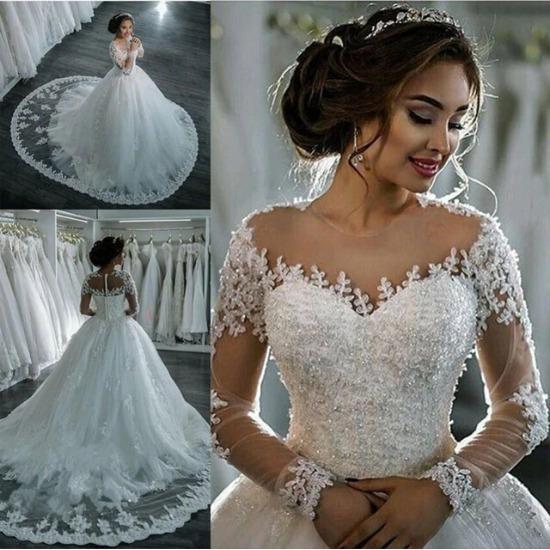 Vestidos De Noiva 2018 Elegante A28