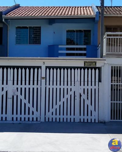 Imagem 1 de 21 de Sobrado 3 Quartos, 2 Vagas De Garagem No Jardim Eliana Em Guaratuba/pr - Imobiliária África - So00165 - 69531326