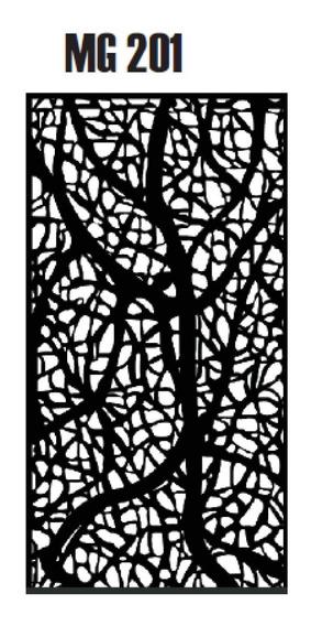 Chapa Perforada Decorativa 1,2 X 0,60 Mts 1.2mm Envios