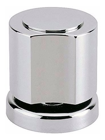 4 Acabamento Registro Chuveiro C40 Metal Cromado Deca 3/4