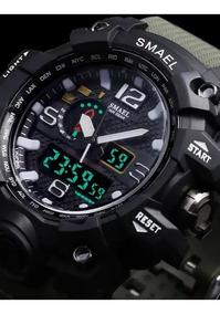Homens Relógio Militar 50 M Relógio De Pulso À Prova D