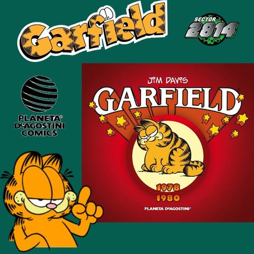 Garfield Nº 1- Tapa Dura Planeta De Agostini