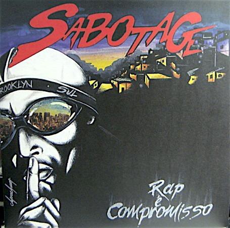 Lp Duplo Sabotage - Rap É Compromisso Re 2016 Novo Lacrado