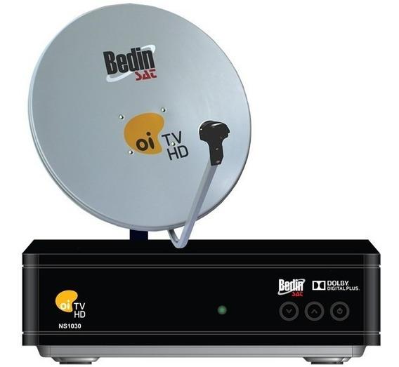 Kit Oi Tv Livre Hd C/ Antena+receptor Completa