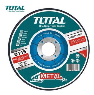 Discos Abrasivos Corte Metal Total X10