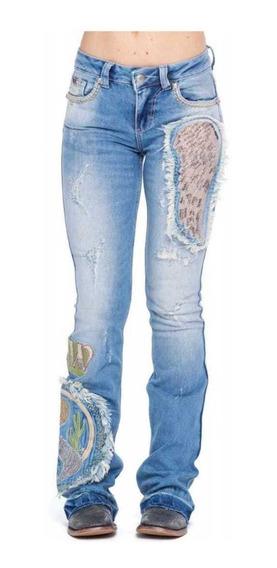 Calça Zenz Western Jeans Montana Feminina Lançamento