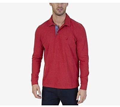 Camisa Polo Nautica Hombre Talla S Color Rojo