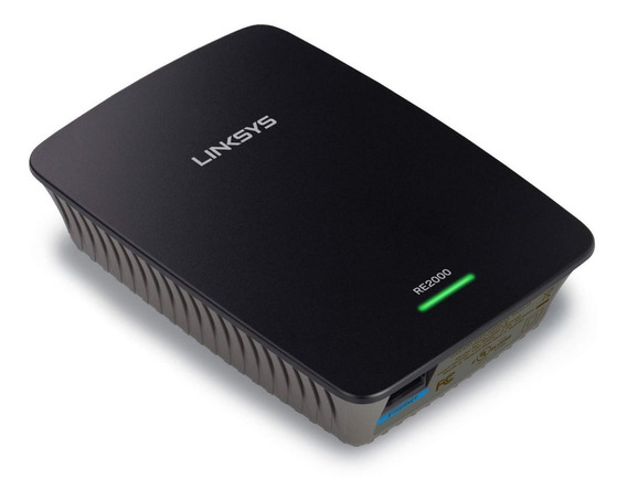 Repetidor Cisco Linksys Re2000 Inalambrico N Wifi Extender