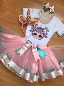 Fantasia Lol Surprise Unicornio C/ Tiara 8 / 10 / 12