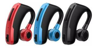 Manos Libres Bluetooth V10 Rojo Y Azul Estuche Envio Gratis