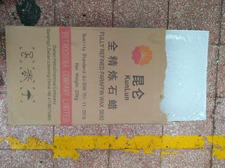 Parafina China Caja De 25 Kg