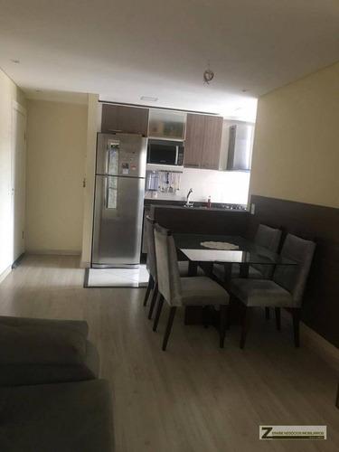 Imagem 1 de 24 de Apartamento Com 3 Dormitórios À Venda, 63 M² Por R$ 300.000,00 - Jardim Bela Vista - Guarulhos/sp - Ap0159