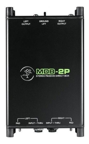 Direct Box Mackie 2 Canais Mdb 2p Passivo