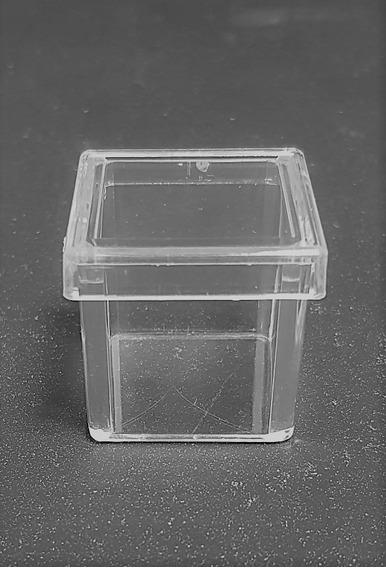 Caja Cuadrada #3 Acrílico Transparente, 6 Pzas, Medida 6*6