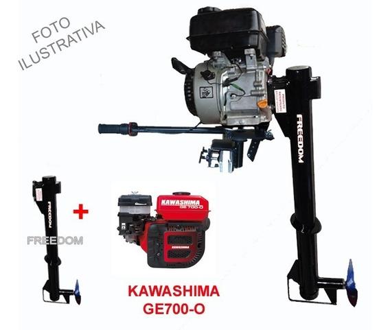 Rabeta Vertical Freedom + Motor Kawashima 7 C/filtro De Óleo