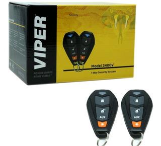 Nueva Alarma Viper Auto 3400v Protege Golpes Apertura Switc