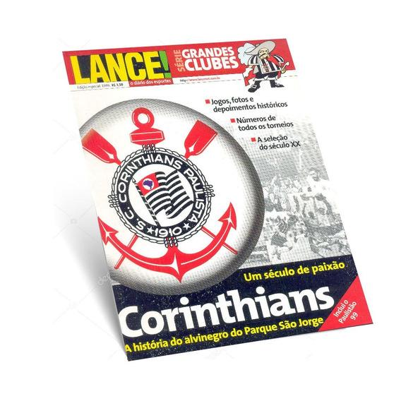 Revista Lance Grandes Clubes Corinthians História Alvinegro