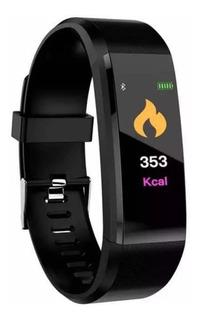 Relógio Smartband Lcd Colorido Pressão Arterial Smart