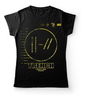 Camiseta Mujer Twenty One Pilots Trench Rock Activity