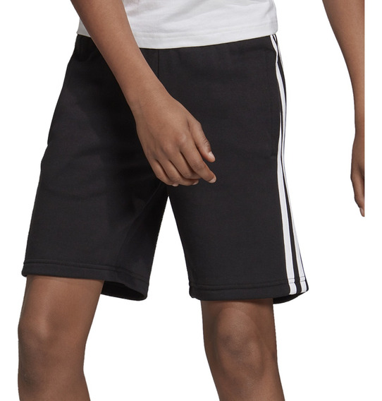 Bermuda adidas Training Yb Essentials Knit Niño Ng/bl
