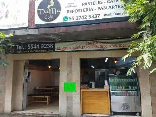 Coyoacan Traspaso Cafeteria Totalmente Equipada Y Funcionand