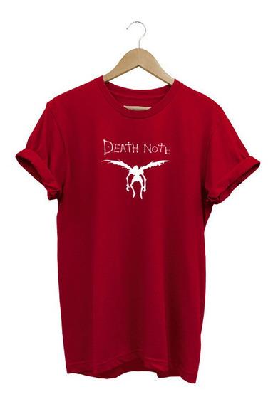 Camisa Baby Look Feminina Death Note Anime