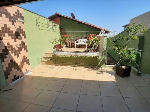 Casa Geminada Três Quartos Bairro Fernão Dias - 16101