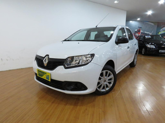 Renault Logan 1.0 Authentique Flex Completo C/ Airbag + Abs
