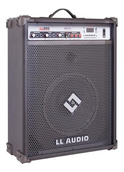 Caixa Amplificada Ll Ll200bt Bluetooth/usb/controle/sd/am/fm