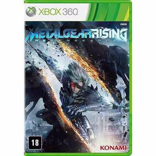 Metal Gear Rising (mídia Fisica, Legendado Pt.br) - Xbox 360