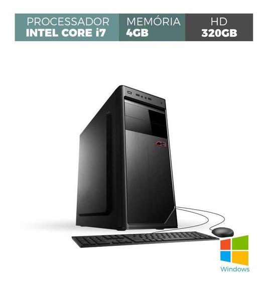 Computador Corporate I7 4gb 320gb Windows Kit