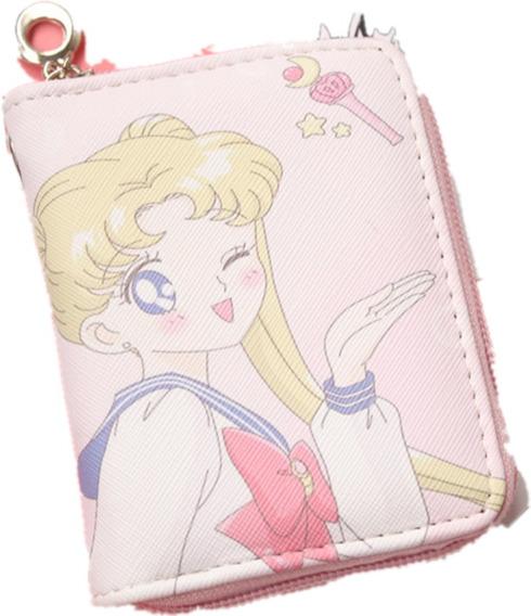 Sailor Moon Cartera Monedero Bolsa Anime Cetro Serena E Grat