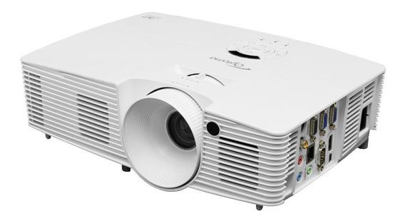Projetor Multimídia Optoma X351 Dlp Branco 3600lumens Xga 3d