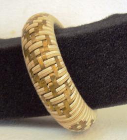 004 Bjp- Bracelete Pulseira Cordão E Metal Dourado