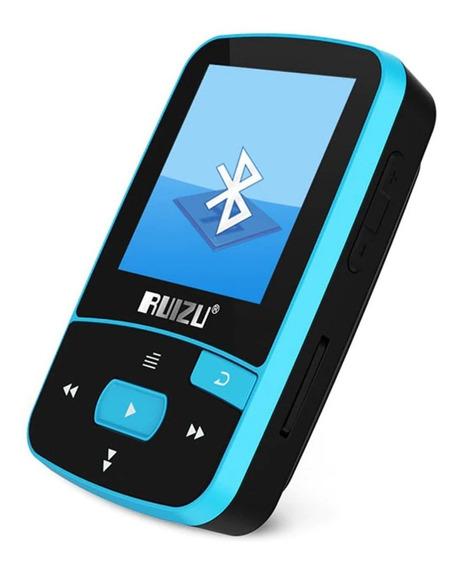 Mp3 Player Ruizu 8gb X50 Bluetooth Mp4 + Fone Pronta Entrega