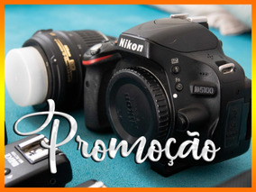Nikon D5100 + Lente Kit 18-55 + Flash + Rádio - Promoção!
