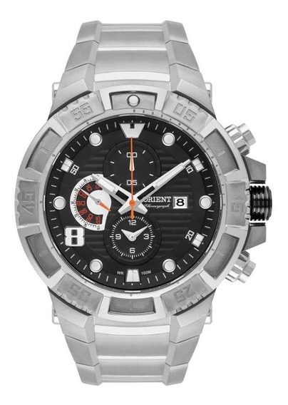 Relógio Orient Titanium Cronógrafo Masculino - Mbttc012 P2gx