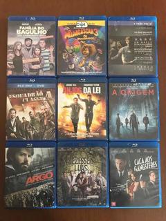 Blu-ray E Blu-ray 3d Lote Com 10 Filmes