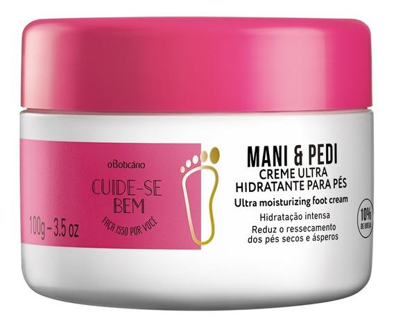 Cuide-se Bem Mani & Pedi Creme Hidratante Para Pés 100g