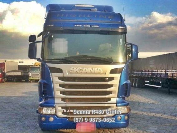 Scania R-480 Edição Especial; Aut Raridade No Mercado