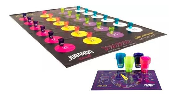 Twister Jugando Spirits - Juego De Shots Para Tequila