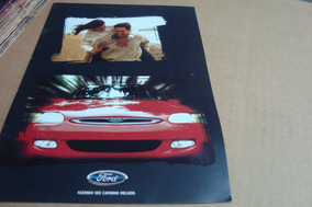 Poster Cartaz Foto Catalogo Distribuidor Ford Escort 2000