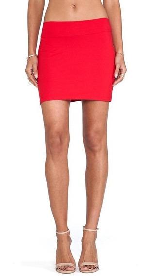 Mini Falda Roja - Falda Corta Color Rojo