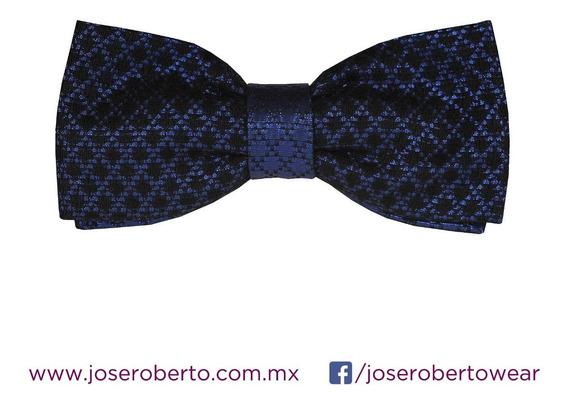 Moño/pajarita/bowtie Hombre Formal Brocado Cuadros Azul
