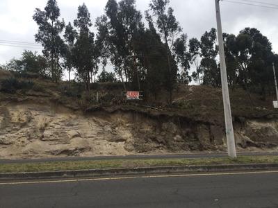 Terreno Paso Lateral Ambato-riobamba, Precio Negociable