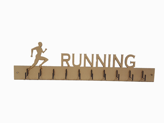 Porta Medallas/medallero Running
